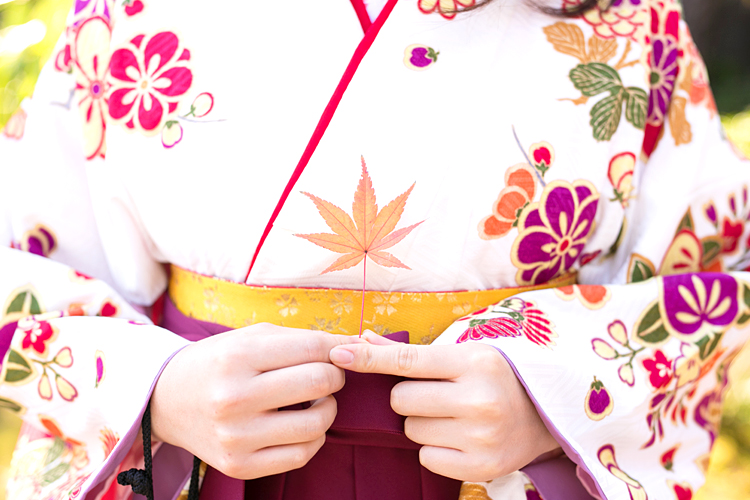 袴の着付け