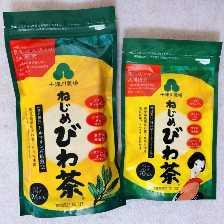「めじめびわ茶」 ティーバッグ10包・24包を販売してます